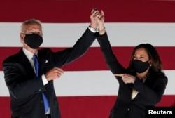 Джо Байден та Камала Гарріс - кандидати від Демократчиної партії США на посаду президента та віце-президента США