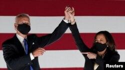 Calon presiden AS Joe Biden dan wakilnya Kamala Harris. (Foto: Reuters)