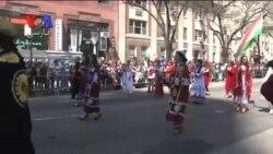 رژه نوروزی ایرانیان در نیویورک