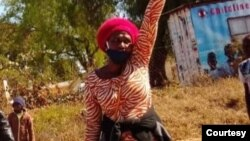 Isiphathamandla senhlanganiso yeAmalgamated Rural Teachers' Association of Zimbabwe Unkosazana Sheila Chisirimunhu.