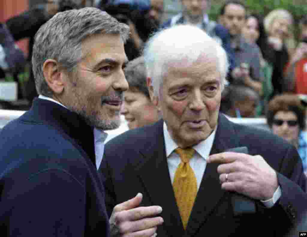 Джордж Клуни с отцом Ником Клуни