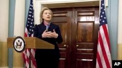 Hillary Clinton, secretária de Estado americana