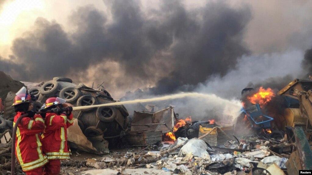 黎巴嫩首都发生大爆炸 至少25人死亡2500多人受伤