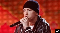 Rap star Eminem