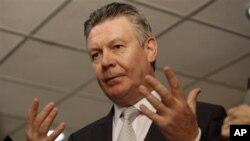 Komisaris Urusan Perdagangan Uni Eropa Karel De Gucht