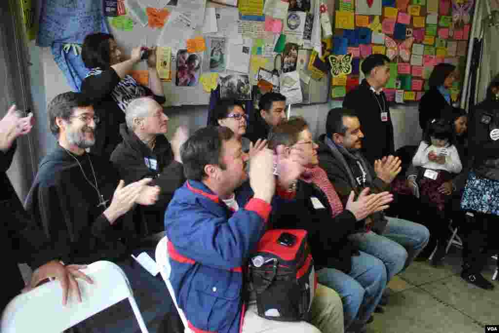 Este grupo de líderes y activistas tienen días en ayuno por una reforma de inmigración.