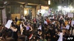 Misirdə müxalifət qrupu nümayişçiləri Qahirədə etirazlarını davam etdirməyə çağırıb