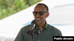 Le président Paul Kagame, 13 février 2017.
