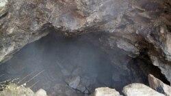 غار باستانی پیده خوزستان، همچنان در آتش