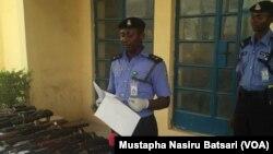 ASP Abubakar Dan Inna kakakin rundunar 'yan sandan jihar Neja