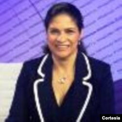 Maria Peña, periodista corresponsal de La Opinión