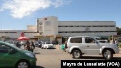 Hospital Central de Maputo, Moçambique (Foto de Arquivo)