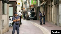 Polisi Spanyol di Mallorca (Foto: ilustrasi)