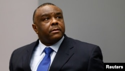 Jean-Pierre Bemba Gombo of the Democratic Republic of the Congo sits in the courtroom of the International Criminal Court (ICC) in The Hague, June 21, 2016.