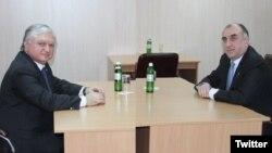 Elmar Məmmədyarov və Edvard Nalbandyan
