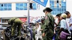 برما میں دو بم دھماکے