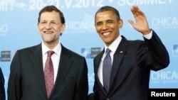 Los dos mandatarios se encontraron en la cumbre de la OTAN en Chicago en 2012.