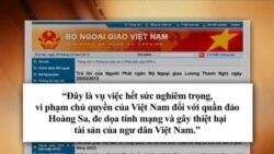 VN phản đối TQ bắn cháy tàu cá của ngư dân