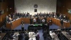 رأیگیری کمیته سنا درباره طرح بررسی توافق اتمی با ایران در کنگره