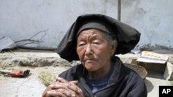 中國西部的貧窮農民