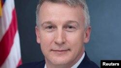 Rick Bright, mantan direktur dari Biomedical Advanced Research and Development Authority, dalam foto yang dirilis Departemen Kesehatan dan Layanan Manusia AS, di Washington, 2017.