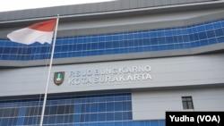 RSUD Bung Karno Solo, Jumat, 3 Juli 2020. (Foto : VOA/ Yudha Satriawan)
