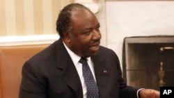 Le président gabonais Ali Bongo Ondimba, 9 juin 2011.