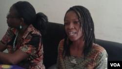 UNkosazana Glanis Chingachirere loNkosazana Egnes Chindima.
