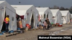 Kamp pengungsi di Diyarbakır, Turki (foto: dok). Turki menampung sekitar tiga juta pengungsi Suriah yang tinggal di sana.