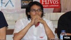 Peneliti Departemen Komunikasi dan Informasi Pengurus Besar Nahdlatul Ulama (PBNU) Savic Ali. (Foto: VOA/Andylala)