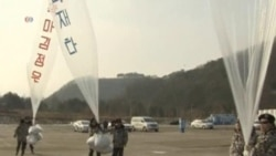 South Korean Activists Send Propaganda-Filled Balloons into North