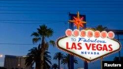 """Ansèy yon moun ka wè si ou ale vizite Las Vegas: """"Welcome to Fabulous Las Vegas"""""""