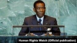 Guine Equatorial Teodro Obiang