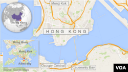 Hong Kong (Mong Kok, Occupy Central, Causeway Bay)