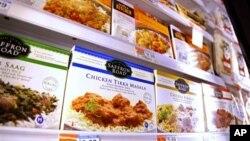 Produk makanan halal yang dijual di supermarket di Amerika. (Foto: Dok)