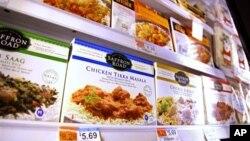 Makanan halal produksi American Halal Co., Inc., sekarang dapat ditemukan di toko retail seperti Whole Foods di Darien, Connecticut ini (Foto: dok).