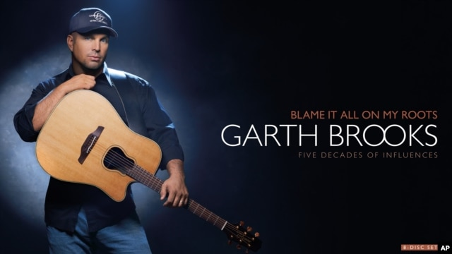 The cover of Garth Brooks' 8-disc box set,