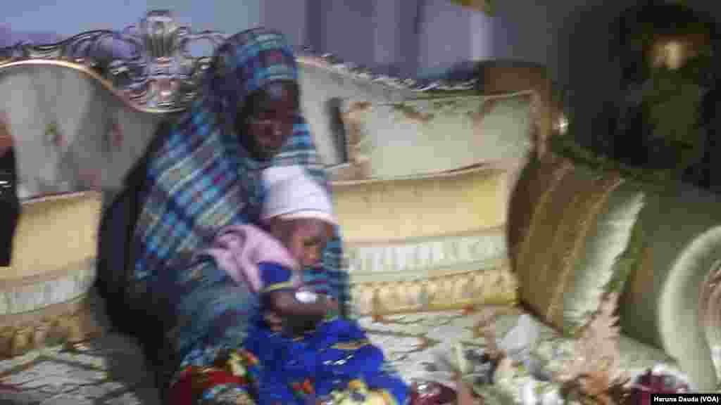 BORNO: Rakiya Abubakar one of the Chibok girls rescued with her six-month old baby