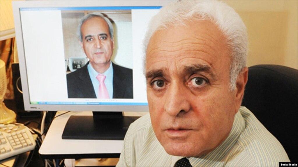 آقای توکلی یکی از رهبران جامعه بهائی در ایران که زندانی است.