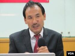 西藏議會議員格桑堅贊(張永泰拍攝)