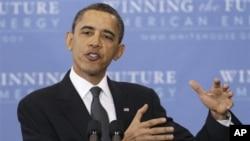 奥巴马总统周三在华盛顿乔治城大学发表讲话