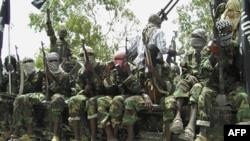 (Ảnh tư liệu) Các phần tử hiếu chiến Al-Shabab ở Somalia