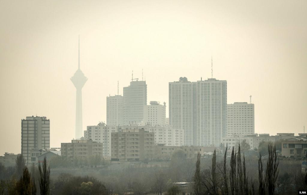 آلودگی هوای تهران عکس: مصطفی صفری