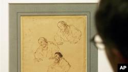 2006年10月在巴黎羅浮宮展出的倫勃朗名畫