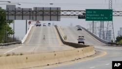 Puente sobre el río Christina, en Wilmington, Delaware.