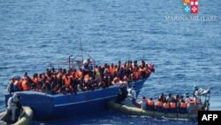 AKcija spasavanja imigranata u julu 2014.