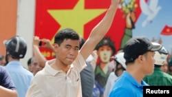 2014年5月18日越南南部胡志明市反中国抗议