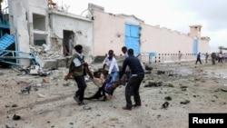 青年党激进分子袭击联合国驻摩加迪沙大院