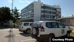 Zgrada UNMIK-a na Kosovu