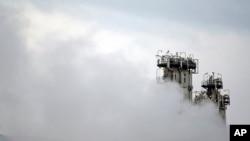 이란 아라크 인근 중수로 원전 시설. (자료사진)